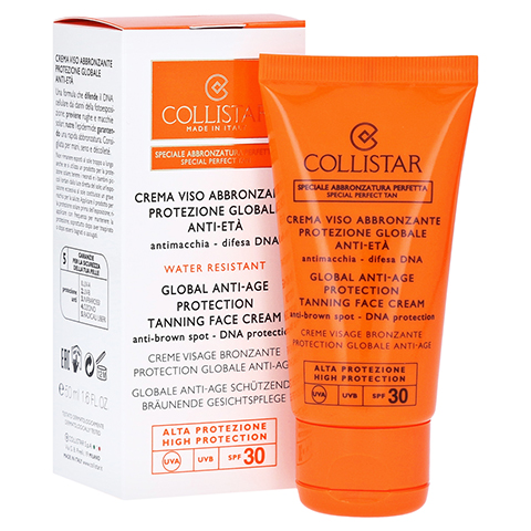 COLLISTAR Global Anti-Age Protection Tanning Face Cream 50 Milliliter