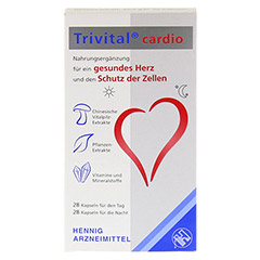 TRIVITAL cardio Kapseln 56 Stück - Vorderseite