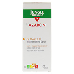 JUNGLE Formula by AZARON COMPLETE Spray 75 Milliliter - Vorderseite