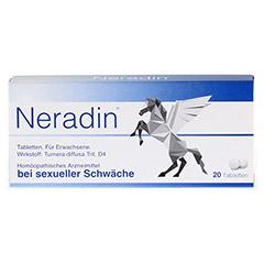 NERADIN Tabletten 20 Stück - Vorderseite