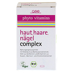 HAUT HAARE NÄGEL Complex Bio Tabletten 60 Stück - Vorderseite