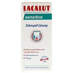 LACALUT sensitive Zahnspül-Lösung 300 Milliliter - Vorderseite