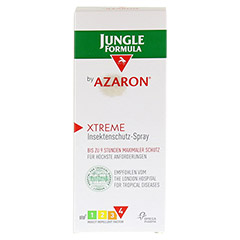 JUNGLE Formula by AZARON XTREME Spray 75 Milliliter - Vorderseite