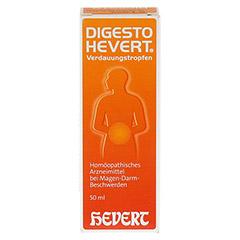 DIGESTO Hevert Verdauungstropfen 50 Milliliter N1 - Vorderseite