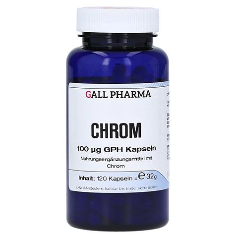 CHROM 100 µg GPH Kapseln 120 Stück