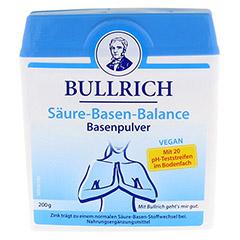BULLRICH Säure Basen Balance Pulver 200 Gramm - Vorderseite