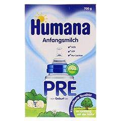 HUMANA Anfangsmilch PRE LCP+GOS Pulver 700 Gramm - Vorderseite