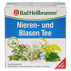 Bad Heilbrunner Nieren- und Blasen Tee 15 Stück - Vorderseite