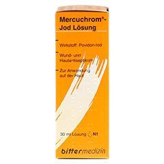 MERCUCHROM Jod Lösung 30 Milliliter N1 - Vorderseite
