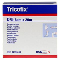 TRICOFIX Schlauchverband Gr.D 6 cmx20 m 1 Stück - Vorderseite
