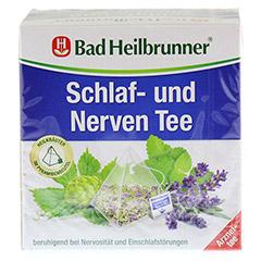 BAD HEILBRUNNER Tee Schlaf- und Nerven Pyram.btl. 15 Stück - Vorderseite