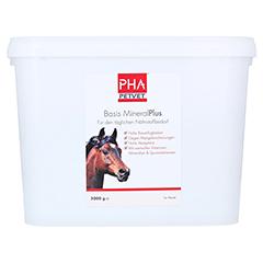 PHA Basis Mineral Plus Pellets f.Pferde 5000 Gramm - Vorderseite