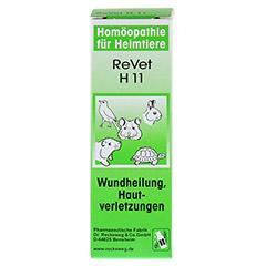 REVET H 11 Globuli f.Heimtiere 10 Gramm - Vorderseite
