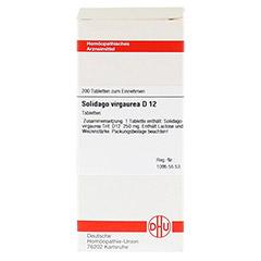 SOLIDAGO VIRGAUREA D 12 Tabletten 200 Stück N2 - Vorderseite