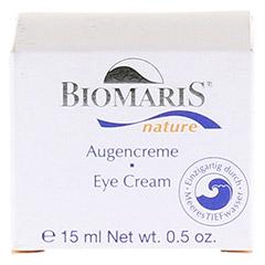 BIOMARIS Augencreme nature 15 Milliliter - Vorderseite
