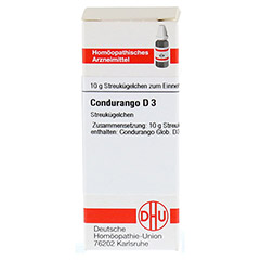 CONDURANGO D 3 Globuli 10 Gramm N1 - Vorderseite