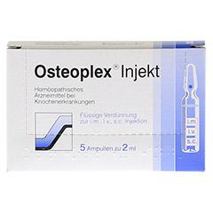 OSTEOPLEX Injekt Ampullen 5 Stück N1 - Vorderseite
