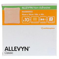 ALLEVYN non Adhesive 10x10 cm Wundverband 10 Stück - Vorderseite