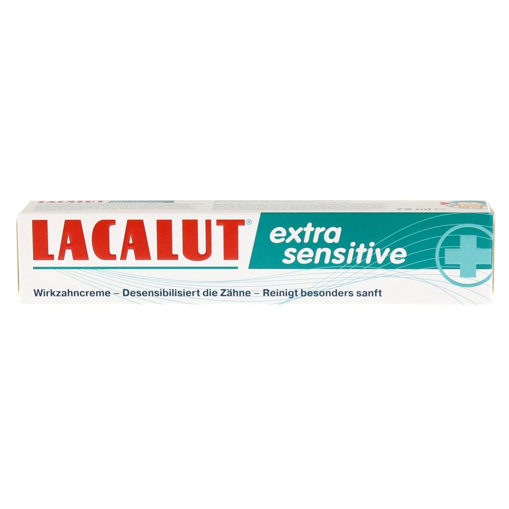 Erfahrungen Zu LACALUT Extra Sensitive Wirkzahncreme 75