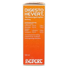 DIGESTO Hevert Verdauungstropfen 100 Milliliter N2 - Linke Seite