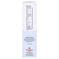 DOPPELHERZ Magnesium 400 Citrat system Brausetabl. 24 Stück - Linke Seite