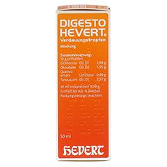 DIGESTO Hevert Verdauungstropfen 50 Milliliter N1 - Linke Seite