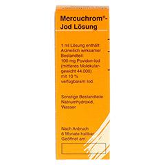 MERCUCHROM Jod Lösung 30 Milliliter N1 - Linke Seite