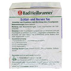 BAD HEILBRUNNER Tee Schlaf- und Nerven Pyram.btl. 15 Stück - Linke Seite