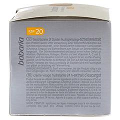 BABARIA Schneckenextrakt Feuchtigkeitscreme LSF 20 50 Milliliter - Linke Seite