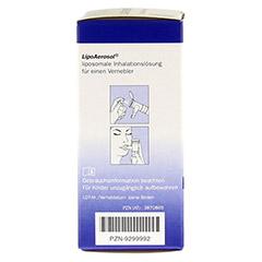 LIPOAEROSOL liposomale Inhalationslösung 45 Milliliter - Linke Seite