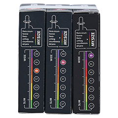 MYSIZE Testpack 60 64 69 Kondome 3x3 Stück - Rechte Seite
