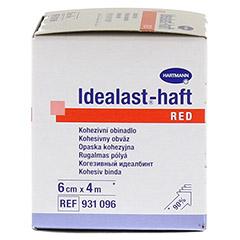 IDEALAST-haft color Binde 6 cmx4 m rot 1 Stück - Rechte Seite