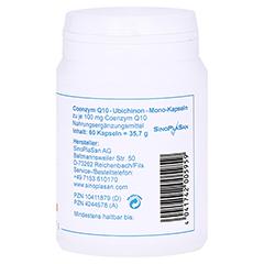 COENZYM Q10 Ubichinon Mono-Kapseln 100 mg 60 Stück - Rechte Seite