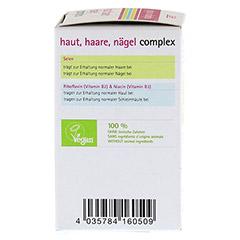 HAUT HAARE Nägel Complex Bio Tabletten 60 Stück - Rechte Seite