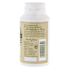 OLIVENBLATT-Extrakt 500 mg Mono-Kapseln 60 Stück - Rechte Seite