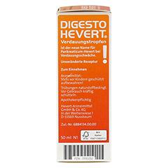 DIGESTO Hevert Verdauungstropfen 50 Milliliter N1 - Rechte Seite