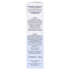 DOPPELHERZ Magnesium 400 Citrat system Brausetabl. 24 Stück - Rechte Seite