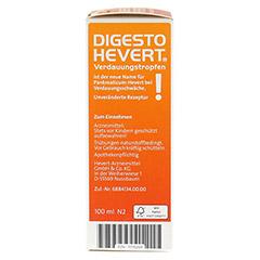 DIGESTO Hevert Verdauungstropfen 100 Milliliter N2 - Rechte Seite