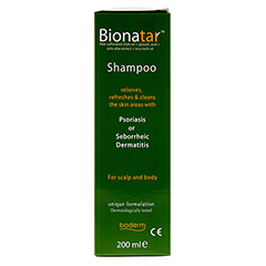 BIONATAR Shampoo boderm 200 Milliliter - Rechte Seite