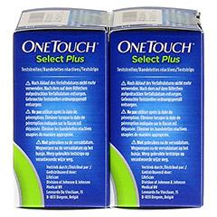 ONE TOUCH Select Plus Blutzucker Teststreifen 100 Stück - Rechte Seite
