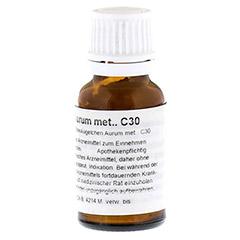AURUM METALLICUM C 30 Globuli 15 Gramm N1 - Rechte Seite