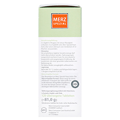 MERZ Spezial Haar-activ Dragees 120 Stück - Rechte Seite