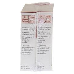 NOBILIN Zink Plus Vitamin C Tabletten 2x60 Stück - Rechte Seite