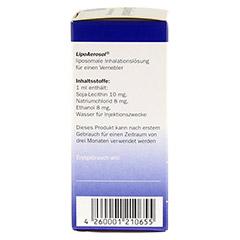 LIPOAEROSOL liposomale Inhalationslösung 45 Milliliter - Rechte Seite