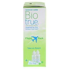 BIOTRUE All in one Lösung Flight Pack 2x60 Milliliter - Rechte Seite