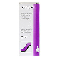 TORNIPLEX Tropfen 50 Milliliter N1 - Rückseite