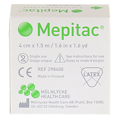 MEPITAC 4x150 cm unsteril Rolle 1 Stück - Rückseite