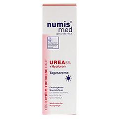 NUMIS med Urea 5% Tagescreme+Hyaluron 50 Milliliter - Rückseite
