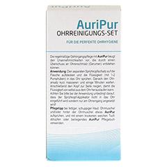 AURIPUR Ohrreinigungs-Set 50 ml 1 Stück - Rückseite