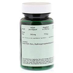 RED RICE 330 mg Kapseln 60 Stück - Rückseite